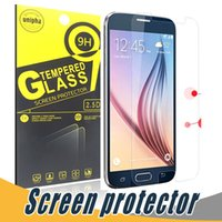 Wholesale Screen Film Retail S3 - For Samsung A9 Tempered Glass 9H 2.5D Explosion Shatter Screen Protector Film With Paper Retail For Samsung S3 S4 Mini A3 A5 A7