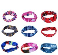 Wholesale Black Head Bands For Girls - Fashion Hair band Headbands Bandanas Head Wrap Dating Sports College Travel Hairband For Lady Girl Men Unisex
