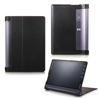 Wholesale lenovo yoga tablet cover - Wholesale- Hot 10.1 Inch Tablet Protective Cover for Lenovo Yoga Tab3 Plus 10.1 YT-X703 Flip PU Leather Case for Lenovo Yoga TAB 3 X90F LHo