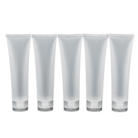 косметические лосьоны оптовых-путешествия пустой прозрачной трубки косметический крем лосьон контейнеры многоразового бутылки 20 мл/ 30 мл/ 50 мл/ 100 мл 5 шт./лот