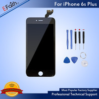 Wholesale Screen Replacement Tools - For Black iPhone 6S Plus Grade A+++LCD Touch Screen Display With 3D Touch Assembly Replacement Part With Tools & Free Shipping