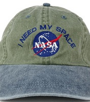 Wholesale I Love Balls - Fashion Caps I NEED MY SPACE NASA Meat Ball 6 god Embroidered Cotton dad hat snapback bone Baseball cap Movie Love Basketball casquette