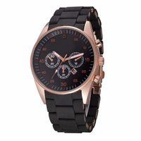 beliebte armbanduhren großhandel-2018 mode beliebte herren sportuhren weiche silikonband datum kalender qualität japan quarz armbanduhr relogio masculino