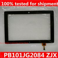 Wholesale Outside Window - Wholesale- Original 10.1'' inch PB101JG2084 for Windows 8 tablets MID touch screen panel the outside Glass Sensor replacement free shipping