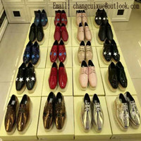 Wholesale Grey Wedge Dress Shoes - 2017 new start stella woos wedges platform shoes platform single shoes single shoes women's Increasing women Flat Lace-up