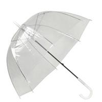 Wholesale Clear Mushroom Umbrellas - Stylish Simplicity Bubble Deep Dome Umbrella Apollo Transparent Umbrella Girl Mushroom Clear Bubble Umbrella 3002014