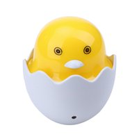 Vente en gros- 90-260V Design créatif Cartoon Duck Wall Socket Light Control Sensor LED Bedroom Night Light Bulb Cadeau enfants / enfants