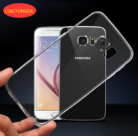 Wholesale S3 Mini Clear Case - Transparent Clear Soft TPU Gel Case For Samsung Galaxy S3 S4 S5 S6 S7 edge S3 S4 S5 mini A3 A5 A7 2016 Note 3 4 LINGDONGDA Cover