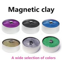 Wholesale Magnetic clay mud The magnetic plasticine magnetic mud creative decompression toys swallowed magnet mud Creative toys