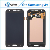 Wholesale One Touch Panel - High Copy For Samsung Galaxy J7 J700 LCD Display with Touch Screen Digitizer Assembly One by One Check