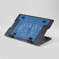 Wholesale Rack Fan Cooler - Laptop Cooling Pad USB Interface Bracket Notebook Radiator Laptop Cooler Rack Base Cushion Dual Double Fans High Level Adjustable Blue Light