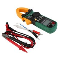 Wholesale Clamp Multimeter Brands - AC DC Digital Multimeter Electric Tester Current Clamp Meter Ammeter MS2008B Free Shipping Brand New
