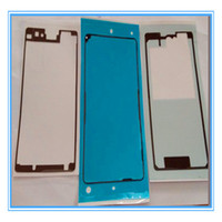 Wholesale set sony resale online - DHL Shipping Sets New For Sony Xperia Z1 Compact D5503 Z1 Mini M51w front middle bracket back Adhesive Tape Full Tape Stickers