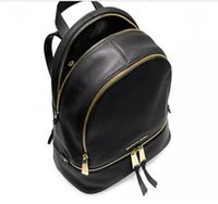 Wholesale Men Leather Laptop Bag Brown - M 2018 new Luxury brand women bag School Bags pu leather Fashion Famous designers backpack women travel bag backpacks laptop bag