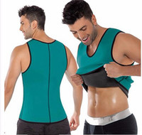 Wholesale Wholesale Men S Vests - Hot Men's Sexy Slimming Tummy Body Shaper Belly Fatty Thermal slim lift Underwear Men Sport Vest Shirt Corset Shapewear Reducers Men's