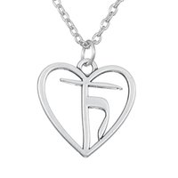 Wholesale New Arrival Necklace Unisex Silver - comejewelry NEW Arrival The Heart of Truth Yoga Satya Pewter Pendant Hindu Pagan jewelry Link Chain necklace- HONESTY AND SHINE