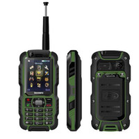 Wholesale Digital Analog Phone - Original Discovery A12i A12 IP67 Waterproof Phone UHF Walkie Talkie Rugged GSM Mobile Phone 2.4 Inch Screen Supports Analog TV rugid