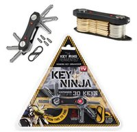 Wholesale Lighted Letters Wholesale - Newest Key Ninja Modern KEY Organize Fit Up To 30 Keys Dual LED Lights Built In Bottle Opener with Retail Package DHL free
