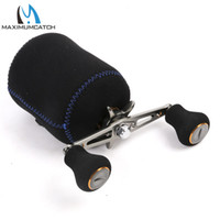 Wholesale Reel Covers - Wholesale- Maximumcatch 2pcs lot Multiplier Baitcasting Reel Bag Fishing Reel Pouch Covers Fishing Tackle