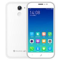 Wholesale Cheapest Quad Core Cell Phones - Cheapest cell phone dual sim card 4G mobile 5 inch 1280*720 2G+16G Fingerprint recognition 2.5D GSM WCDMA mobile phone 2000mah battery