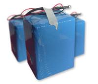 lityum demir fosfat piller toptan satış-Ücretsiz şarj 60 V20AH LiFePO4 lityum demir fosfat pil paketi için elektro bisiklet bisiklet scooter