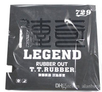 Wholesale Legend table tennis rubber table tennis racket