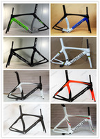 Wholesale Seat Post White - 2016 Lurhachi 7 Colors Available T800 UD Road Bike Frame Carbon Frame Size XXS XS S M L Bicycle Frame+Fork+Seat Post+Headset+Clamp