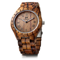 Wholesale watch made japan for sale - Group buy LeeEV Wooden Watches vintage Quartz Natural Wood Wrist Watches Japan movement Classic wooden heart hand made watches