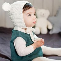 d1e99a60476 Ear Boy Girl Cartoon Online Shopping - Knitted Winter Baby Hat with Ears Cartoon  Children Kids