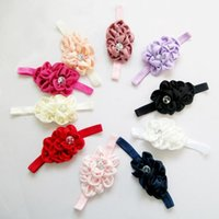 Wholesale Elastic Hair Accesories - knot headband elastic hair bands Girls Bow Hair Accessories Styling Tools Headbands Wedding Accesories Hair Bands All For Children Clothing
