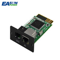 Wholesale Monitor Boards - Promotion SNMP Card SNMP Pcb Board Remote Monitoring For Hybrid Solar Inverter InfiniSolar IGrid SS TT 1-10kw Communication Solution