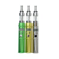 Wholesale E Cigarette Bamboo Kit - Kamry Vaporizer E Cigarette Kits Pen Bamboo Style Portable Mini Electronic Cigarette Atomizer with 2000mah Batteries K201