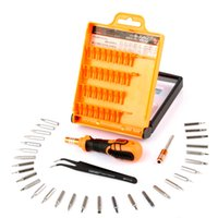Wholesale Mini Screwdrivers Set - JAKEMY JM-8101 32 in1 Precision Screwdriver Phone Repair Kits Set For Phone Laptop Mini Electronic Screwdriver Bits Repair Tools Kit Set