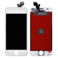 Wholesale Lcd Screen Glass Iphone5 - A+++++ High Quality For iphone 5 5G iphone5 Full Front Glass LCD Display Digitizer Touch Panel Screen Assembly With Frame In Retail Package