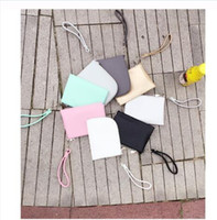 Wholesale Korean Wallet Phone Case - 3pcs high quality new arrival PU phone bag purse wallet card bag key case clutch storage bag by goodfaithgirl Free shippng