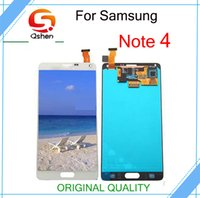 Wholesale Dead Note - No Dead Pixel For Samsung Galaxy Note 4 N910 Lcd Screen Touch Display Assembly Complete Replacement Original Quality Free Shipping