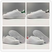 Wholesale Musical Gym - 2017 Classic style Stan Smith Shoes for men women Running Shoes 36-45 White Green color musical Stan Smith Skateboarding Shoes
