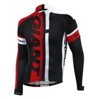 Wholesale China Mtb - Pro Giant Long Sleeve Cycling Jersey maillot bicycle sportwear cycle Clothing mtb bike cheap clothes china sport jacket D0512