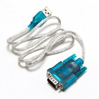 Wholesale usb serial rs232 adapter - Wholesale- 1pcs USB 2.0 TO SERIAL RS232 DB9 9 PIN ADAPTER CABLE PDA cord GPS CONVERTER