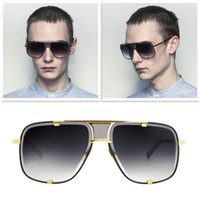 Wholesale Rectangle Glass Crystal - 2017 New high quality mach five men designer brand women sunglasses men sun glasses japan titanium sunglasses 18K gold plated crystal lens