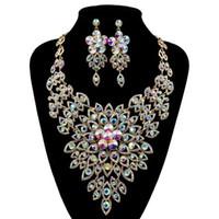 Wholesale Golden Earrings 14k - fashion jewelry made in china wholesale,wholesale fashion jewelry Necklaces luxury big set JH287
