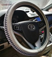 Wholesale Steering Wheel Sweat Cover - car steering wheel cover for summer Ice silk Sweat Ventilation cool