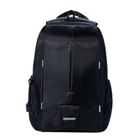 Wholesale Waterproof Rucksack Laptop - Wholesale- KALIDI 15 inch Waterproof Men's Laptop Backpack Computer Rucksack Travel school Daily Bag for Macbook Dell Asus