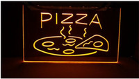 Neon Shop Open Signs Pas Cher-OPEN Hot Pizza Cafe Restaurant Nouveaux panneaux de sculpture Bar LED Neon Signhome décor shop crafts