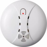 yangın güvenlik alarmı toptan satış-Kapalı Ev Güvenlik Bahçe Güvenliği SM-03 için 433 Kablosuz Duman Dedektörü Yangın Alarm Sensörü