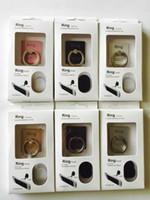 option telefon großhandel-Verkauf von Telefon Stent Diebstahlschutz 360-Grad-Drehoption Super-Qualität Bequemlichkeit Lazy Ring Schnalle Halterung Universal Metal Creative Bracket