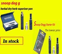 Wholesale E Cigarette Single Starter Pack - Snoop Dogg Starter Kit Blister Pack E Cigarettes Vaporizer kits Snoop dogg vaporizer herbal vaporizer free shipping