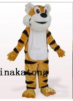 Wholesale Orange Tiger Plush Mascot Costume Adult Mascot Costume cartoon animal character costume
