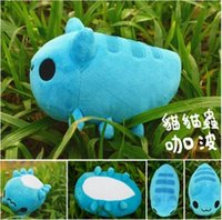 Wholesale Handmade Cat Toys - Wholesale-11.8''BugCat-Capoo BugCat dolls 100% Handmade plush doll BugCat stuffed doll cosplay props cat plush toy limited edtion kid gift