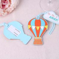 ups equipaje al por mayor-La nueva etiqueta de la bolsa de globos favorece los favores de la boda